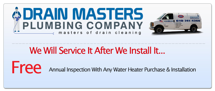 Water Heater Service Coupon San Diego, CA